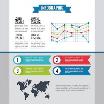 Infographic hele wereld