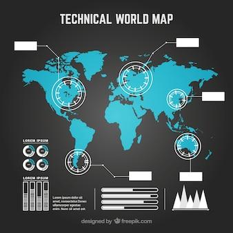 Infographic kaart