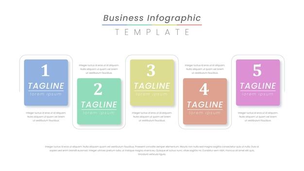 Infographic labelontwerp met pictogrammen en 4 opties of stappen.