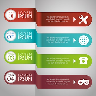 Infographic lay-out grafisch ontwerp