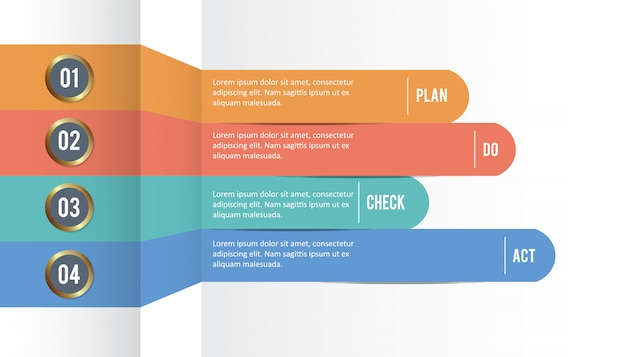 Infographic ontwerpsjabloon
