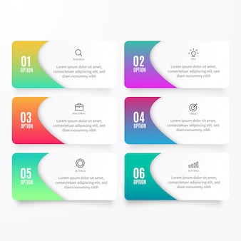 Infographic Optie Element Collection