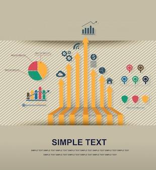 Infographic pictogram vector