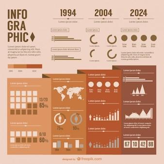 Infographic presentatie gratis vector