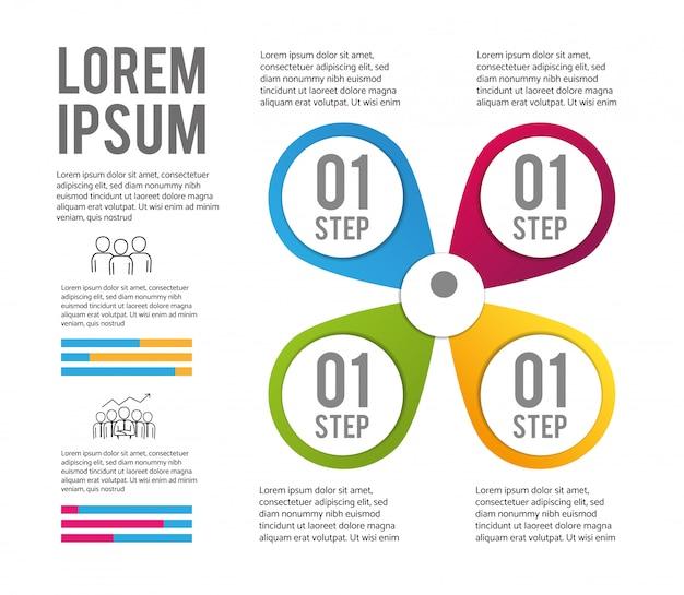 Infographic proccess strategie en planinformatie