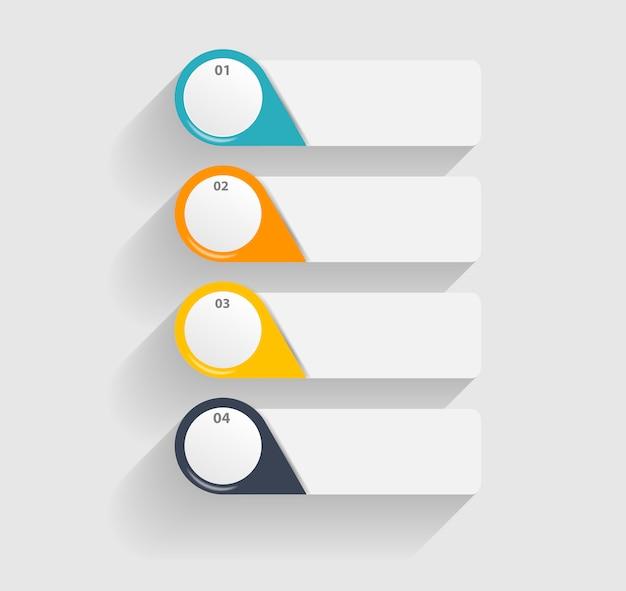 Infographic-sjablonen voor bedrijven