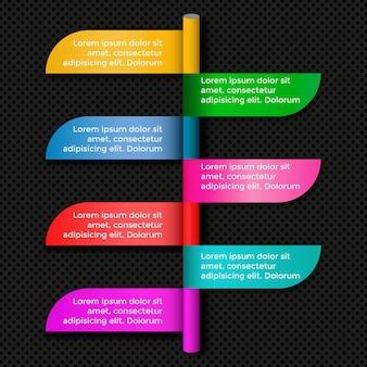 Infographic-sjablonen voor verschillende doeleinden