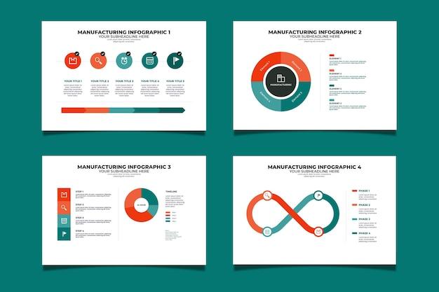 Infographic sjabloon vervaardigen
