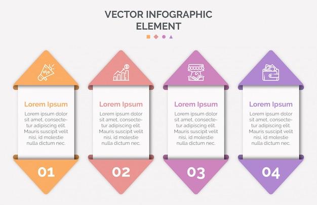Infographic sjabloon