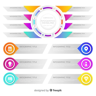 Infographic-sjabloon