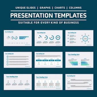 Infographic templates ontwerp
