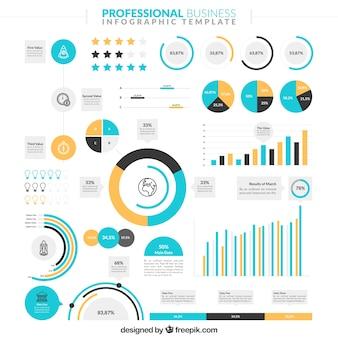 Infographic voor het bedrijfsleven