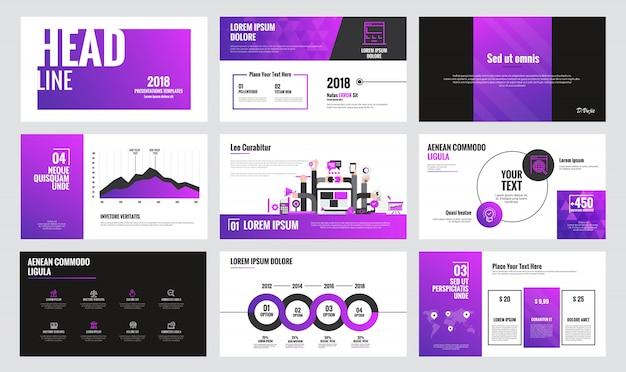 Infographics diasjabloon