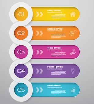 Infographics grafiek ontwerpelement
