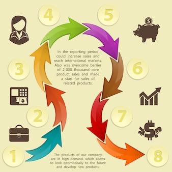 Infographics sjabloon
