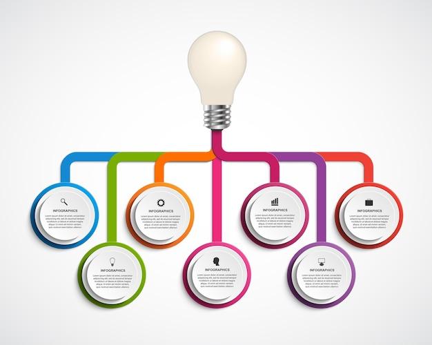 Infographics voor presentaties of informatie.