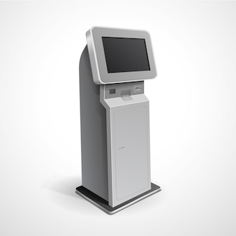 Informatie display monitor terminal stand