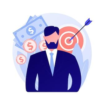 Informatieopslag, map met bestanden. archief, optimalisatie, organisatie geïsoleerd plat ontwerpelement. office manager mannelijke cartoon karakter concept illustratie