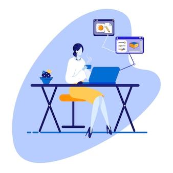 Informatieve poster marketing projectcontrole.