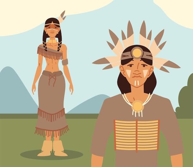 Inheems inheems koppel