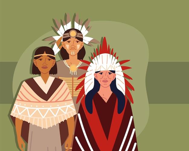 Inheemse groepsmannen