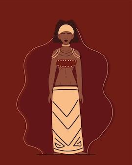 Inheemse of inheemse vrouw