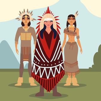Inheemse volk stam