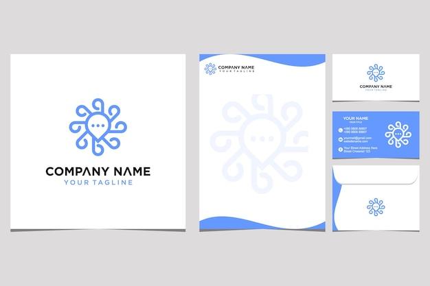 Initiaal en identiteit ornament schoonheid logo ontwerp inspiratie voor bedrijf en visitekaartje premium vector