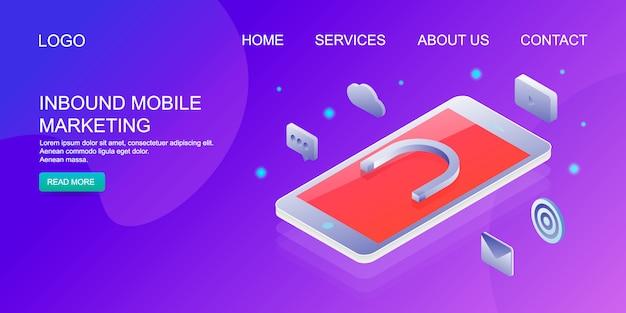 Inkomende mobiele marketing