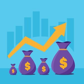Inkomensgroei, bedrijfsontwikkeling, de analyse van de markt.