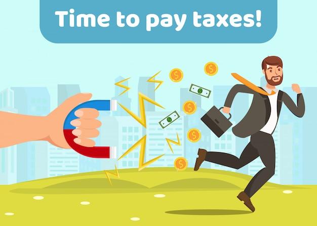 Inkomstenbelastingen betalen
