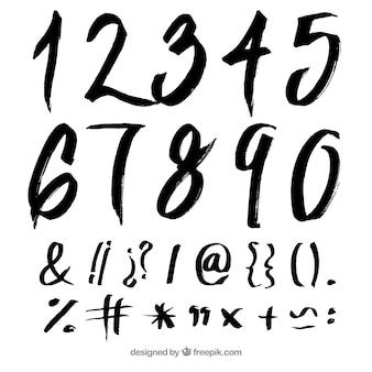 Inktnummers verzamelen
