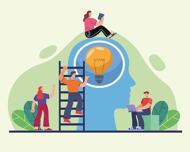 Innovatieve personen en profiel