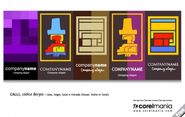 Inpakken logo abstract