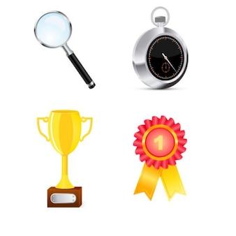 Inpakken van de concurrentie objecten