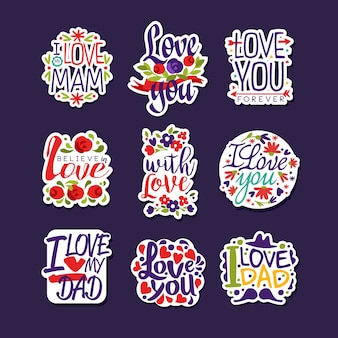 Inscripties over liefdeset
