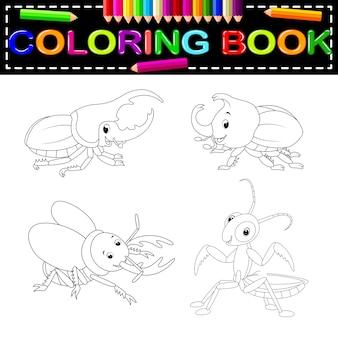 Insecten kleurboek