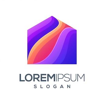 Inspiratie kleurverloop logo ontwerp