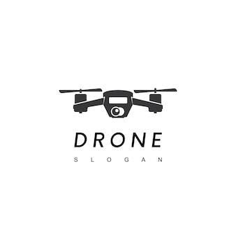 Inspiratie voor drone-logo-ontwerp