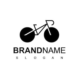 Inspiratie voor fietslogo-ontwerp