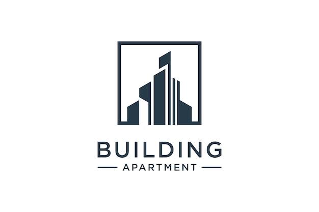 Inspiratie voor het bouwen van vierkante logo's