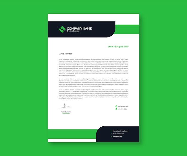 Inspirerend presentatiebriefpapier voor bedrijfszaken