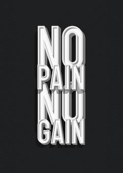 Inspirerende creatieve motivatie offerte poster trendy typografie met teken