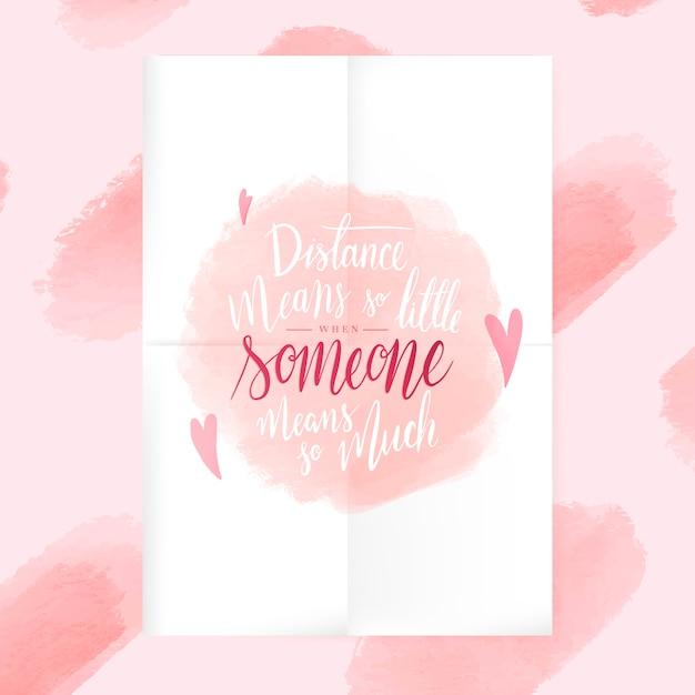 Inspirerende romantische tekst