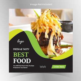 Instagram food restaurant berichten