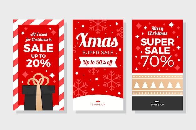 Instagram kerst verkoop verhaal collectie