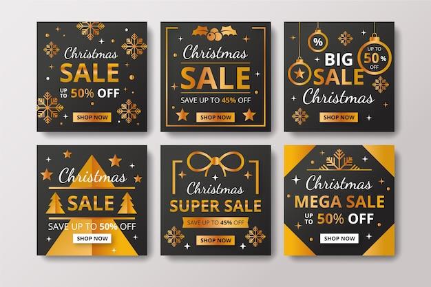 Instagram kerstmis verkoop post collectie