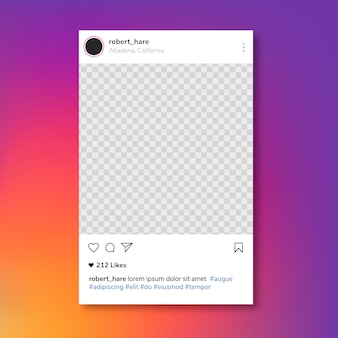 Instagram postframe