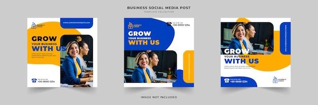 Instagram-postsjabloon voor digitaal marketingbureau