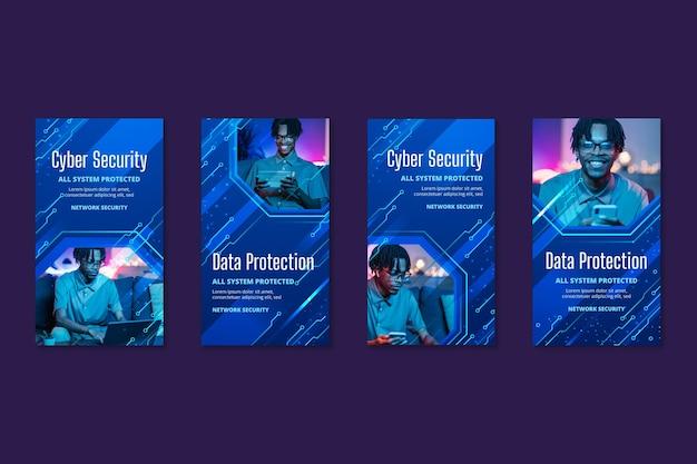 Instagram-verhalen over cyberbeveiliging